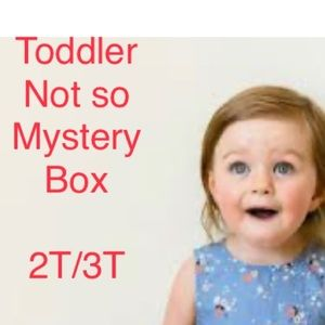 Toddler mystery box 2T/3T